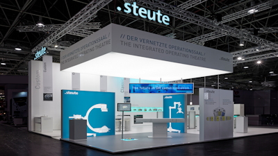 steute Meditec at the Medica 2017 / Several medical devices – one control
