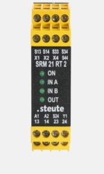 Safety relay modules Safety relay module SRM 21 RT2